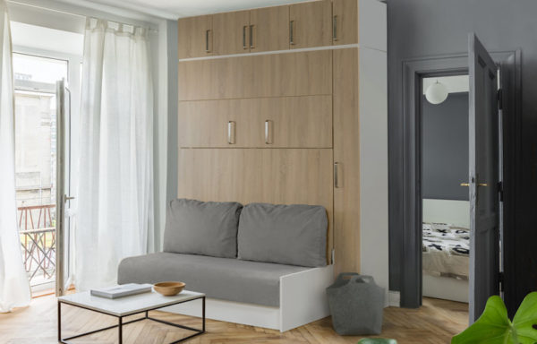 lit relevable avec canapé